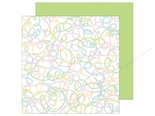 Doodlebug Paper 12 x 12 in. Kitten Smitten Yards Of Yarn (25 sheets)