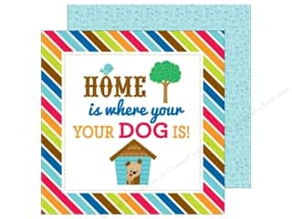 Doodlebug 12 x 12 in. Paper Puppy Love Doggone Cute (25 sheets)