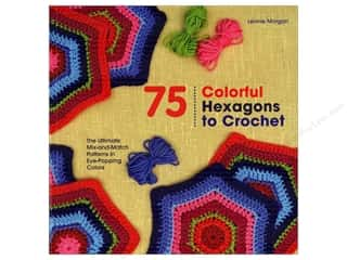 books & patterns: St Martin's Griffin 75 Colorful Hexagons To Crochet Book
