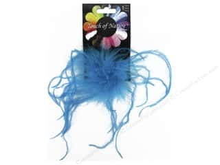 "craft & hobbies: Midwest Design Clip Ostrich Fluffy 4"" Turquoise"