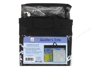 ruler: June Tailor Notions Quilter's Tote 27 in. x 20 in. With Gusset