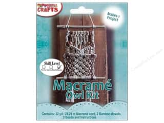 Pepperell Kits Macrame Owl