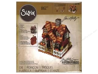 die cutting machine: Sizzix Dies Tim Holtz Bigz Village Bungalow