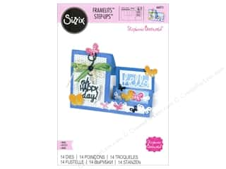 Sizzix Dies Stephanie Barnard Framelits Card Oh Happy Day Mini Step-Ups