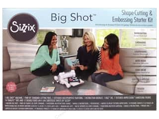 die cutting machines: Sizzix Big Shot Starter Kit - White & Gray