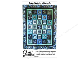 books & patterns: Quilt Moments Twister Magic Quilt Pattern