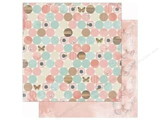 butterflies: Bo Bunny 12 x 12 in. Paper Butterfly Kisses Collection Bliss (25 sheets)