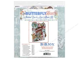 scrapbooking & paper crafts: Bo Bunny Butterfly Kisses Shadow Box & Mini Album Kit