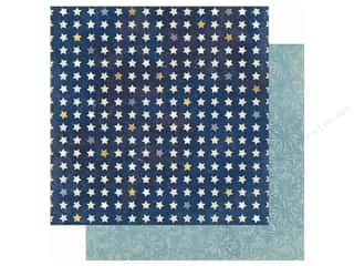 paper blue: Bo Bunny 12 x 12 in. Paper Firecracker Freedom (25 sheets)