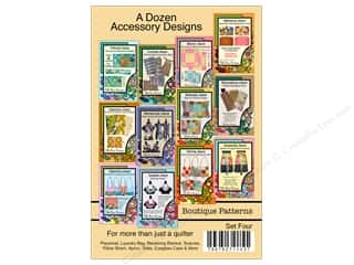 Villa Rosa Designs A Dozen Accessory Designs Pattern Cards - Set 4