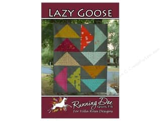 Villa Rosa Designs Lazy Goose Pattern Card