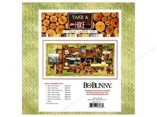 projects & kits: Bo Bunny Project Kit Take A Hike 2 Page Layout Kit