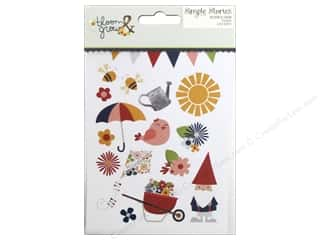 "Simple Stories: Simple Stories Collection Bloom & Grow Stickers 4""x 6"""