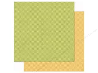 Simple Stories: Simple Stories 12 x 12 in. Paper Bloom & Grow Green & Yellow Dot (25 sheets)