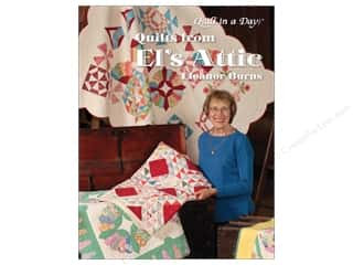 Quilting: Quilt In A Day Quilts From El's Attic Book