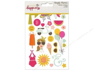 Simple Stories: Simple Stories Stickers 4 x 6 in. Sunshine & Happiness