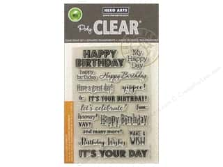 scrapbooking & paper crafts: Hero Arts Poly Clear Stamps It's Your Day