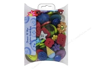 craft & hobbies: Jesse James Dress It Up Embellishments Grab Bag Brights