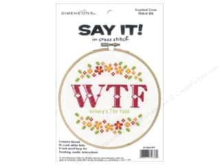 yarn & needlework: Dimensions Cross Stitch Kit Say It! Where's The Food