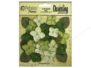 scrapbooking & paper crafts: Petaloo Darjeeling Hydrangeas Green