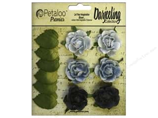 leaves: Petaloo Darjeeling Garden Rosette Blue