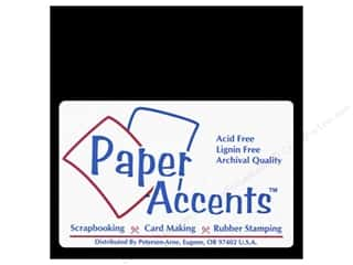 scrapbooking & paper crafts: Paper Accents Chipboard 4 x 4 in. 90 pt. 2X Heavy Black (25 sheets)