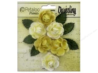 Petaloo Darjeeling Garden Rosette Mini Yellow
