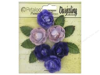 Petaloo Darjeeling Garden Rosette Mini Purple