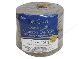 craft & hobbies: Darice 4-Ply Jute Cord 45 yd. Natural