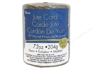 craft & hobbies: Darice 3-Ply Jute Cord 98 yd. Natural