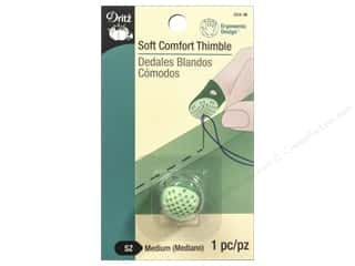 Dritz Soft Comfort Thimble 1 pc. Medium Green