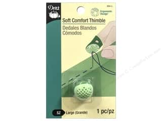Dritz Soft Comfort Thimble 1 pc. Large Green