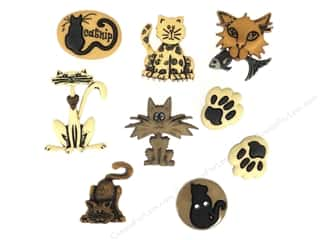 craft & hobbies: Jesse James Dress It Up Embellishments Alley Cat