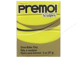 craft & hobbies: Premo! Sculpey Polymer Clay 2 oz. Zinc Yellow