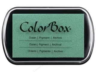 embossing ink: Colorbox Full Size Pigment Inkpad Ocean