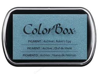 embossing ink: Colorbox Full Size Pigment Inkpad Robin's Egg