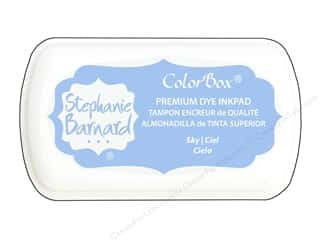 ColorBox Premium Dye Mini Ink Pad by Stephanie Barnard Sky