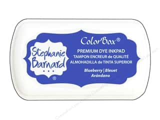 ColorBox Premium Dye Mini Ink Pad by Stephanie Barnard Blueberry
