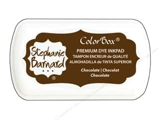 ColorBox Premium Dye Mini Ink Pad by Stephanie Barnard Chocolate