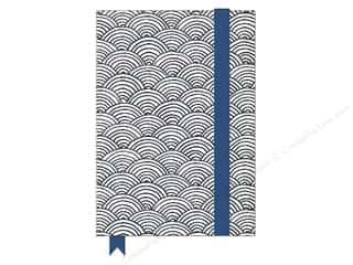 elastic: American Crafts Adult Coloring Notebook with Elastic Band Hall Pass Scallop