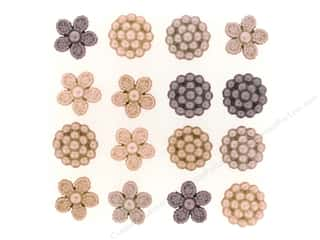 scrapbooking & paper crafts: Jesse James Dress It Up Embellishments Vintage Pearls