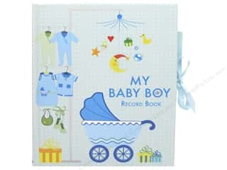 books & patterns: White Star Publishers My Baby Boy Record Book