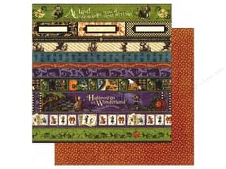 Graphic 45: Graphic 45 12 x 12 in. Paper Halloween in Wonderland At Last (25 sheets)