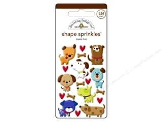 stickers: Doodlebug Sprinkles Stickers Puppy Love