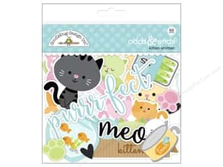die cuts: Doodlebug Collection Kitten Smitten Odds & Ends
