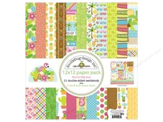 Doodlebug Paper Pack Plus 12 x 12 in. Fun In The Sun