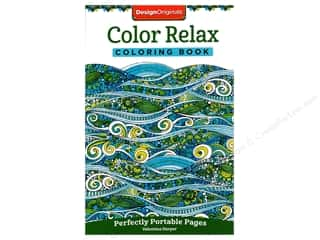 Design Originals Color Relax Coloring Book