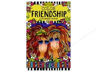 Design Originals Color Friendship Coloring Book