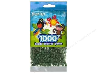 beading & jewelry making supplies: Perler Beads 1000 pc. Evergreen