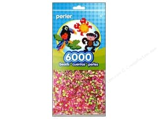 beading & jewelry making supplies: Perler Beads 6000 pc. Floral Mix